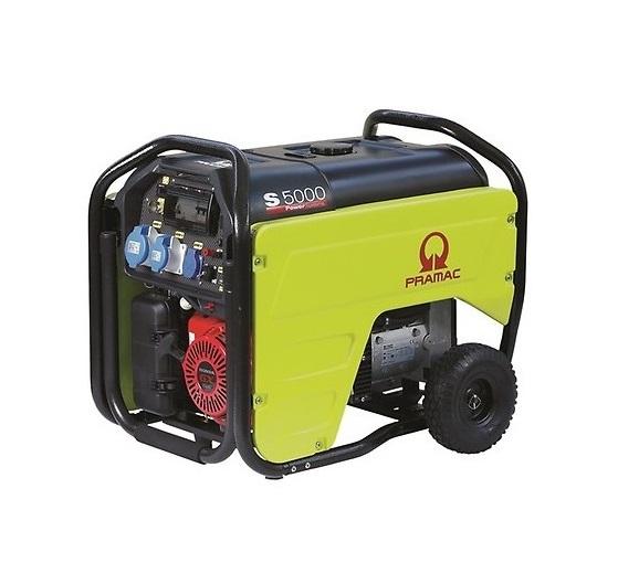 Бензиновый генератор (Бензогенератор) Pramac  S5000, 230 V, 50Hz #CONN