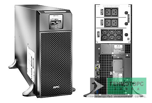 Источник бесперебойного питания APC Smart-UPS RT 6000 ВА
