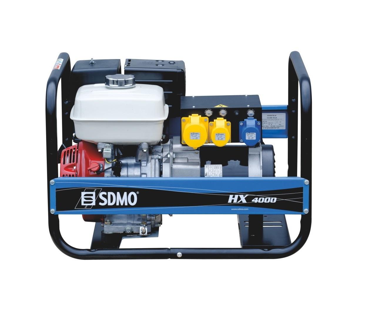 Бензиновый генератор (Бензогенератор) SDMO HX 4000-C