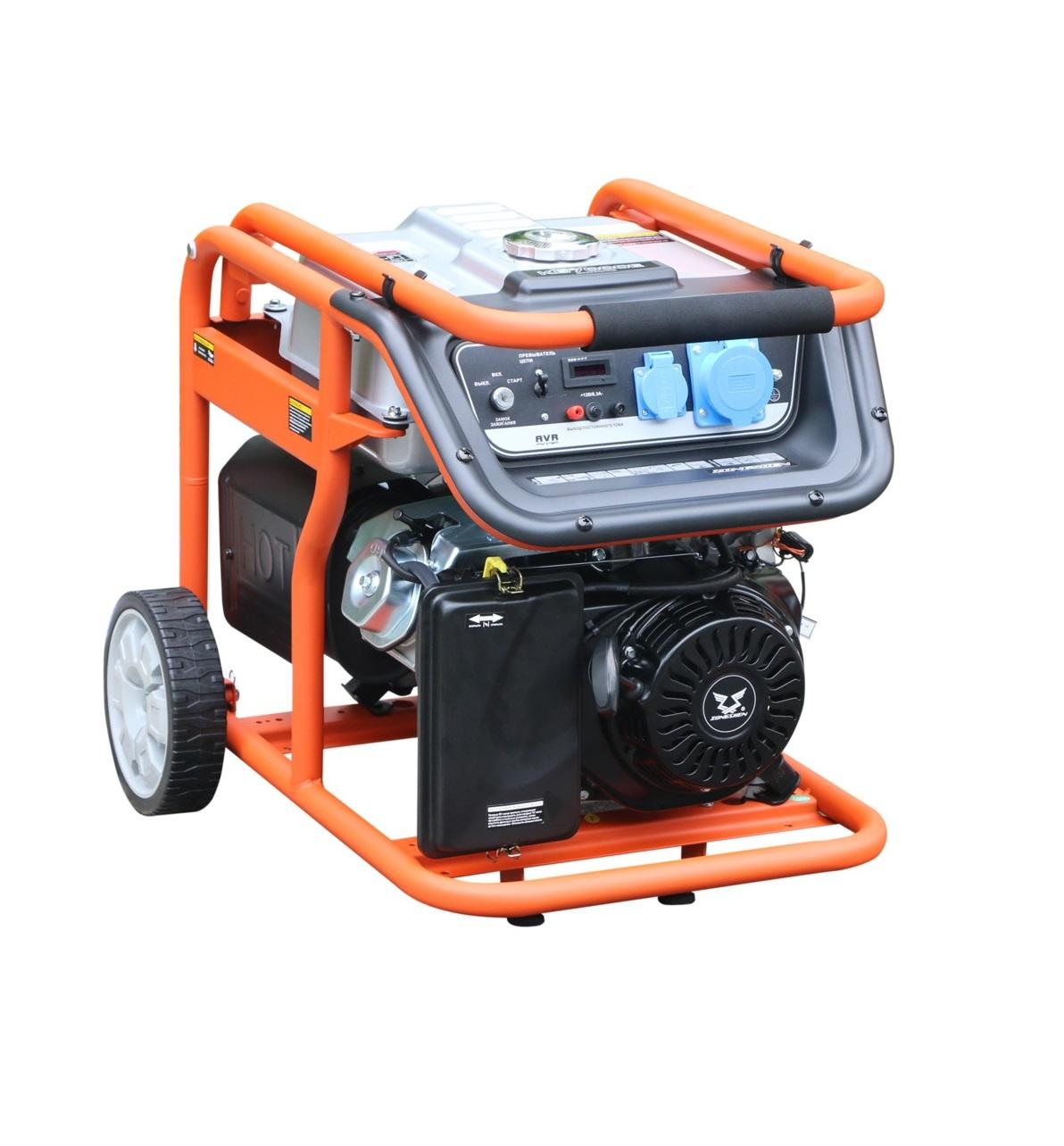 Бензиновый генератор (Бензогенератор) Zongshen KB 6000 E