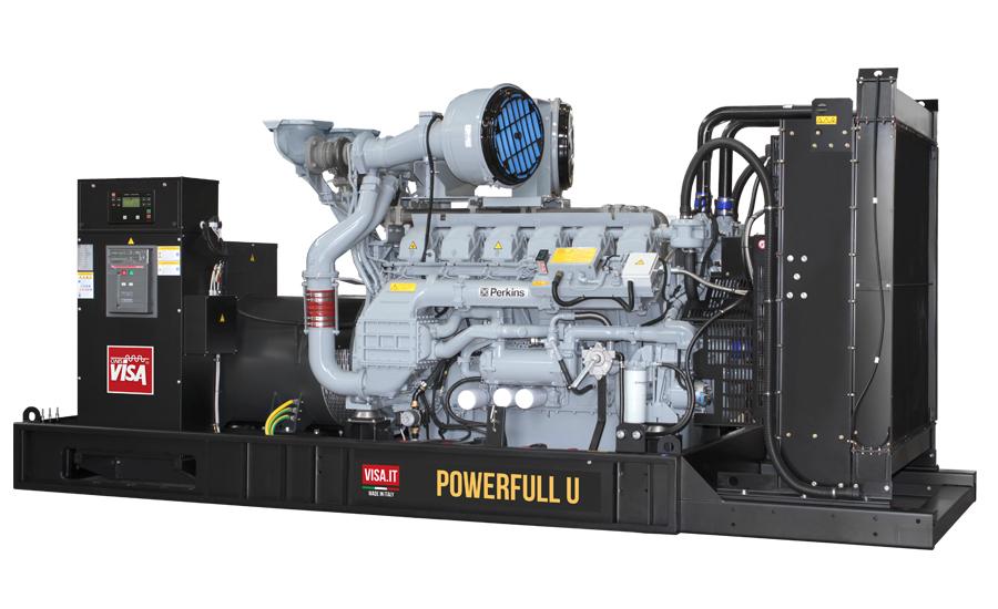 Дизельный генератор (электростанция) Onis Visa P1260