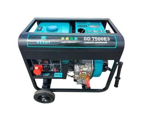 Дизельный генератор (электростанция) Gesht GD7500E3