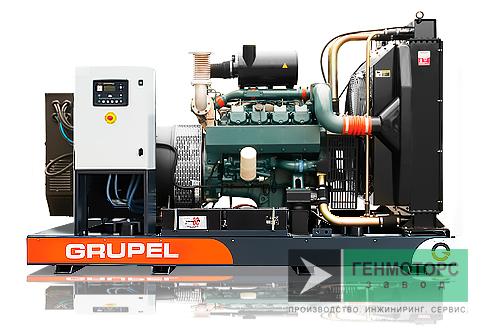Дизельный генератор (электростанция) G257DSGR Grupel