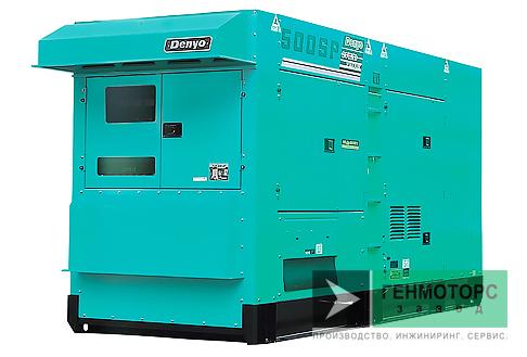Дизельный генератор (электростанция) DENYO DCA-500SPK