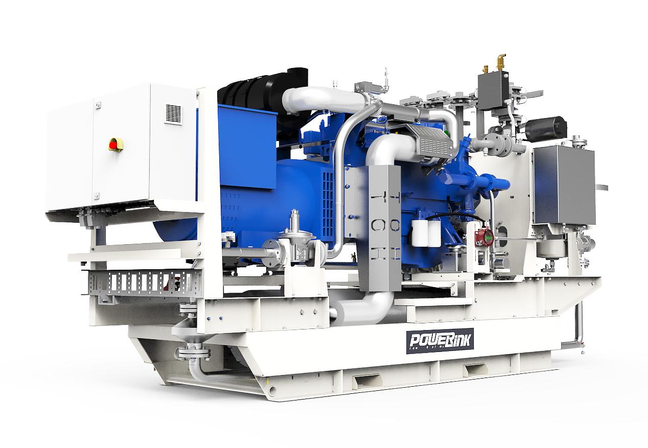 Газопоршневая электростанция (ГПУ) PowerLink CG200S-NG