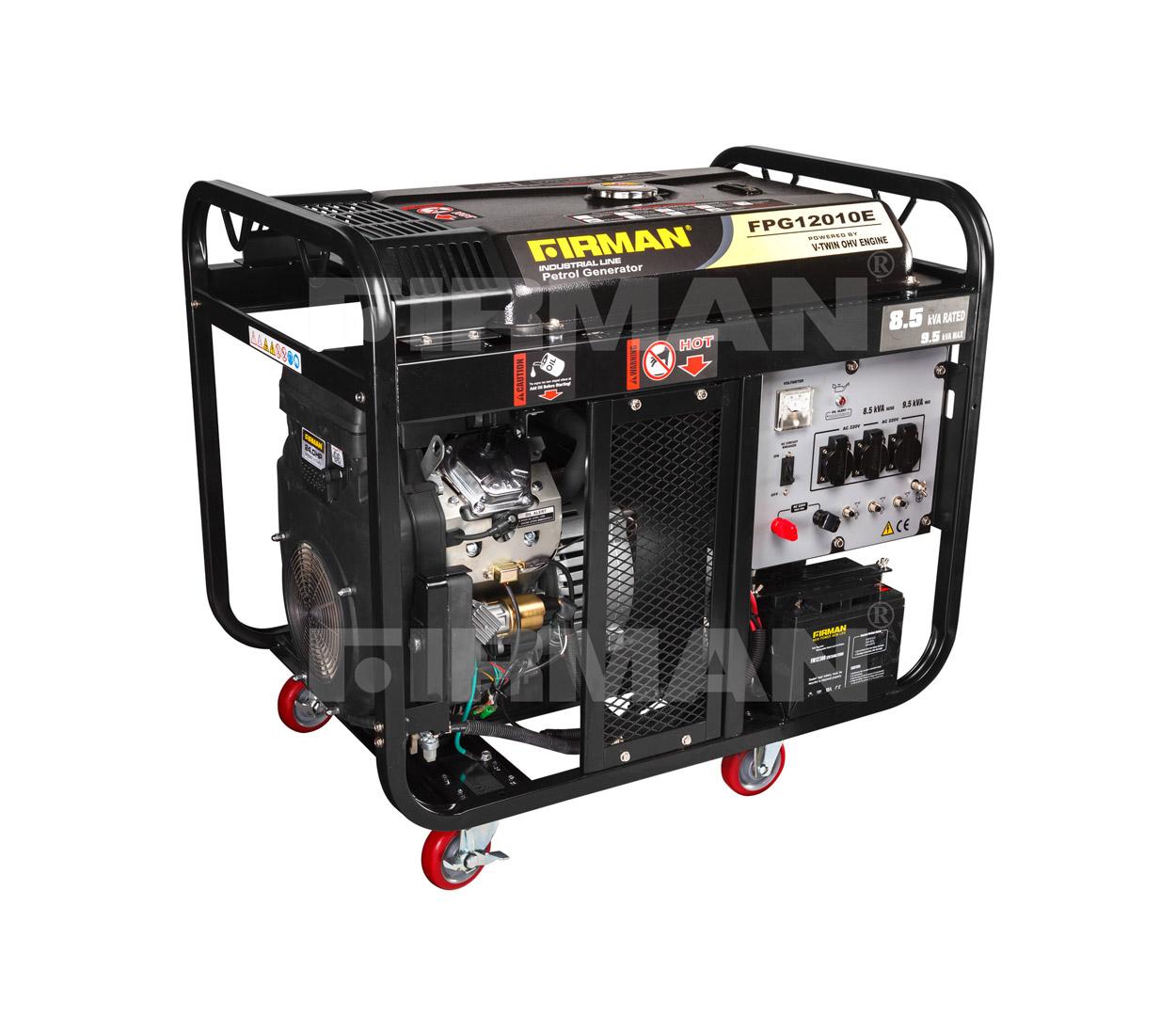 Бензиновый генератор (Бензогенератор) Firman FPG12010Е